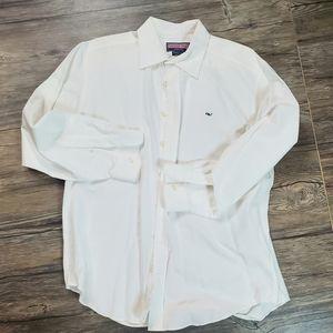 vineyard vines oxford shirt, large